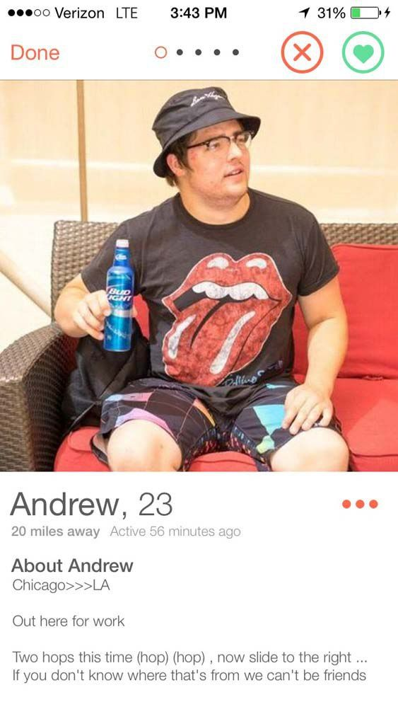 Great online dating profiles for guys