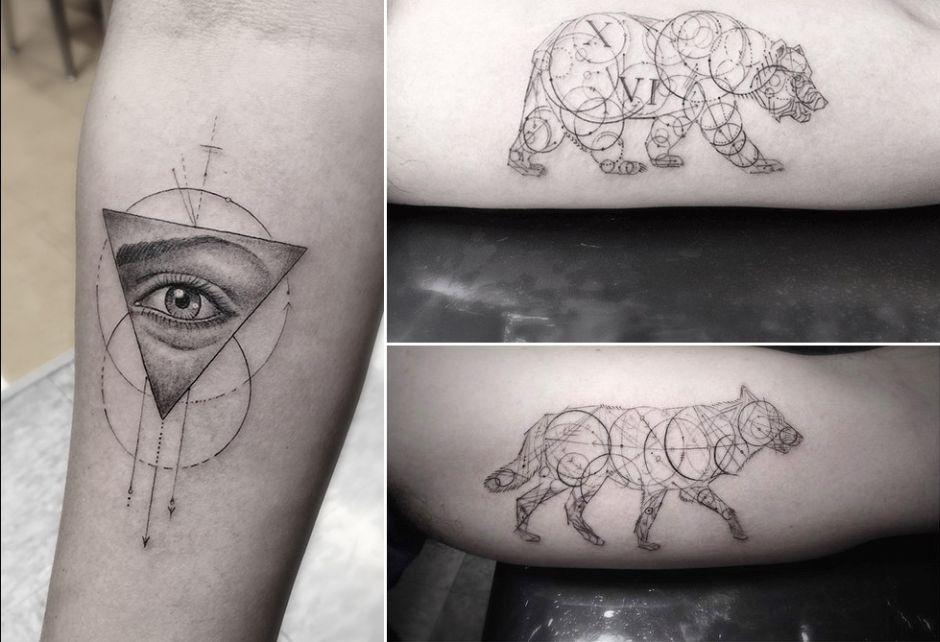 Sztuka Tatuażu Dr Woo Lady De Nonsens