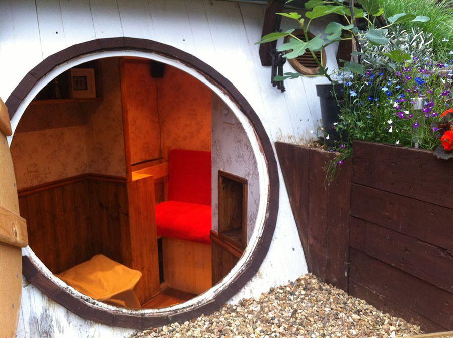 Jak wybudować norę hobbita ?