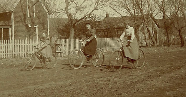 Women on Bicycles