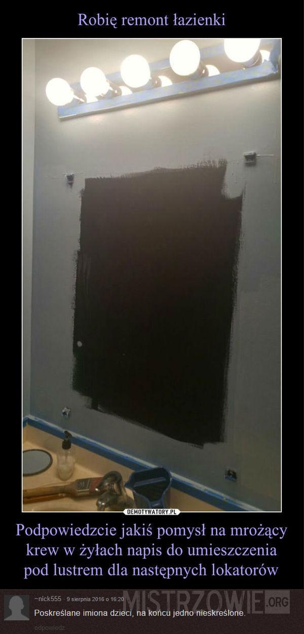 Remont łazienki –