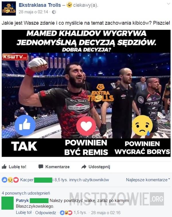Khalidov vs Mańkowski –