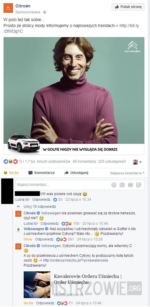 Citroen vs Volkswagen –