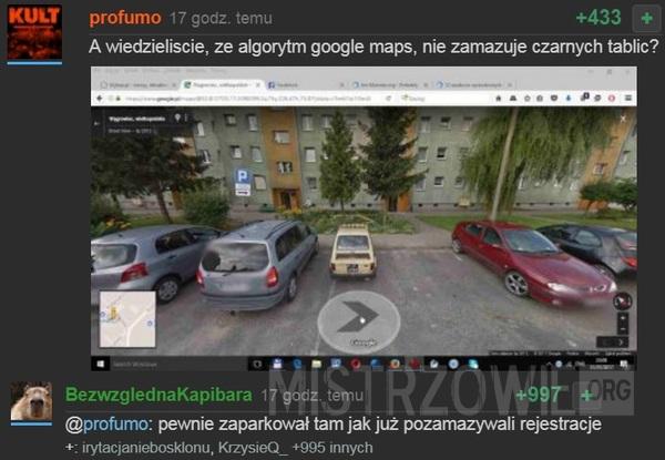 Algorytm google maps –