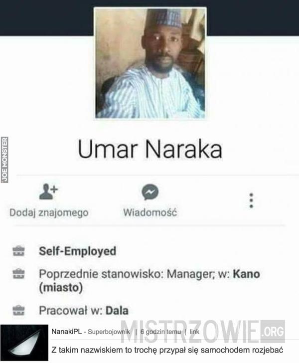 Umar Naraka –