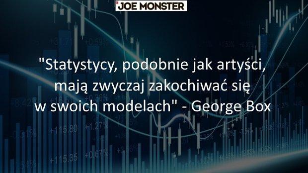 Statystycy, podobnie jak artyści, mają zwyczaj zakochiwać się w swoich modelach - George Box