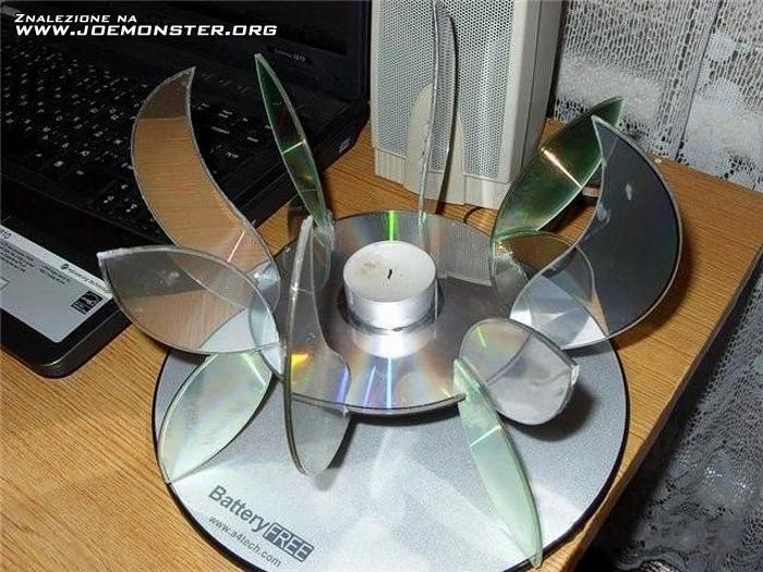 Подстаканник из дисков своими руками