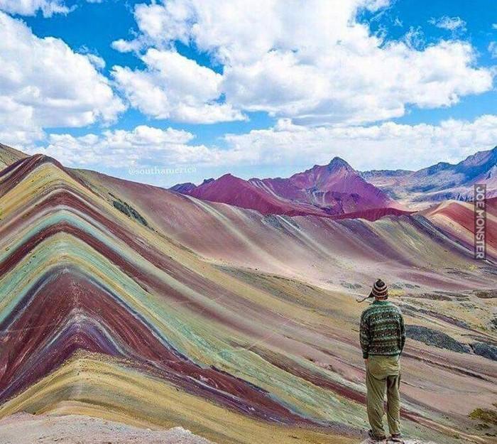 Tęczowe Góry w Peru - Joe Monster