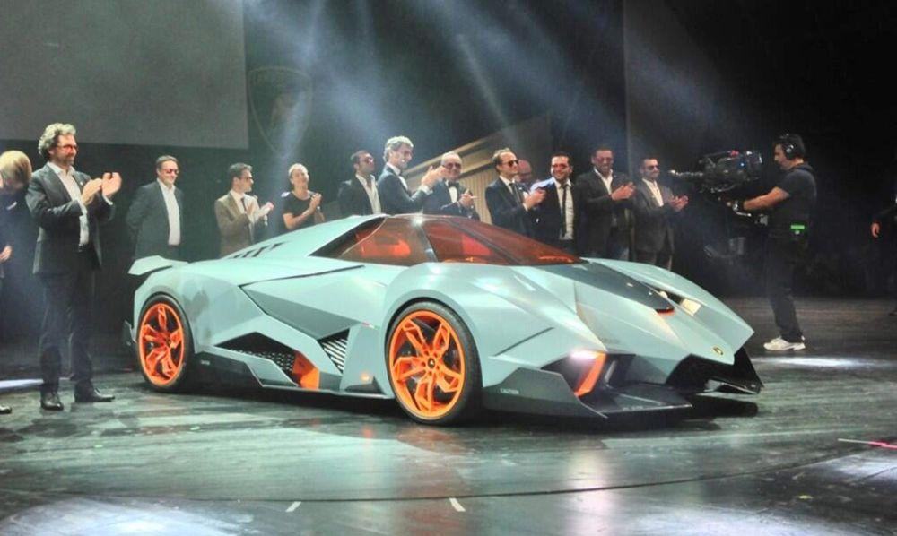 Lamborghini Egoista Mokry Sen Fana Sportowych Samochodow Joe Monster