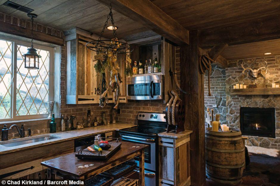 Piwnica Zamieniona W Dom Z Gry Fantasy Joe Monster