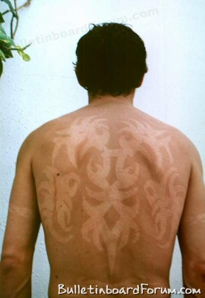 Tatuaż Z Opalenizny Czyli Bardzo Niebezpieczna Letnia Moda