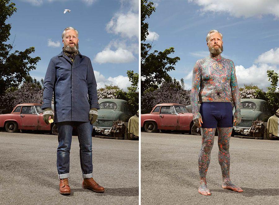 Ci Ludzie Są Uzależnieni Od Tatuaży Spotykając Ich Na Ulicy