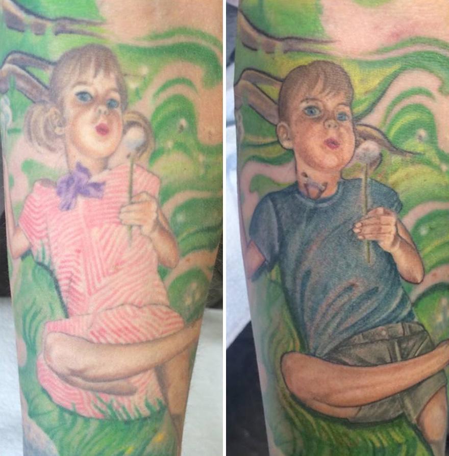 Matka Przerobiła Swój Tatuaż Aby Wesprzeć 15 Letnią Córkę