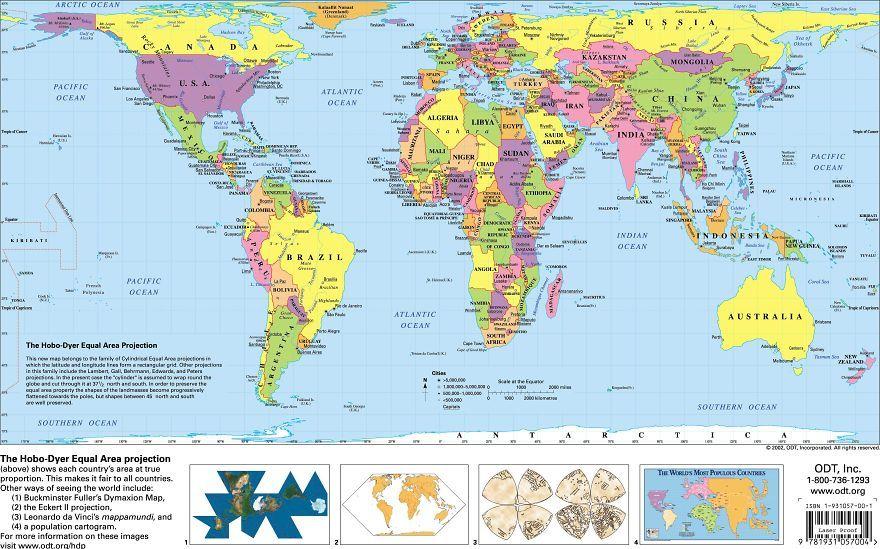 Jak Duze Sa Tak Naprawde Kraje Swiata I Dlaczego Mapy Nas Od Lat