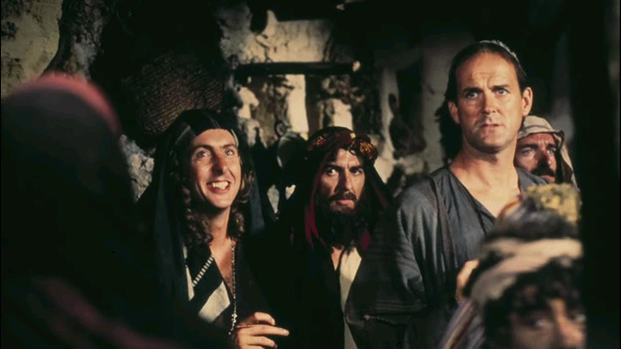 The Beatles Polska: Eric Idle wspomina jak George Harrison uratował film Monty Pythona