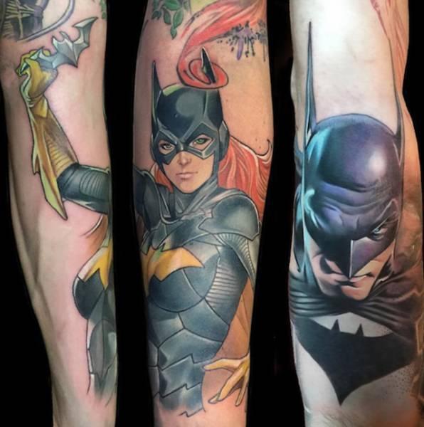 Zachwycające Tatuaże Dokładnością Dorównujące Zdjęciom Joe