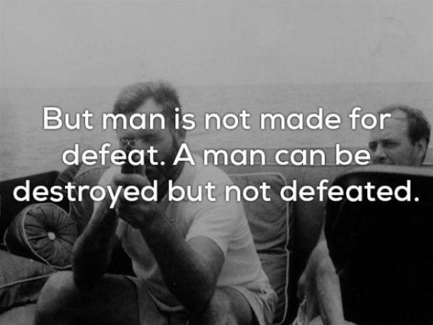 Ernest Hemingway Mądrym Człowiekiem Był I Zostawił Po Sobie