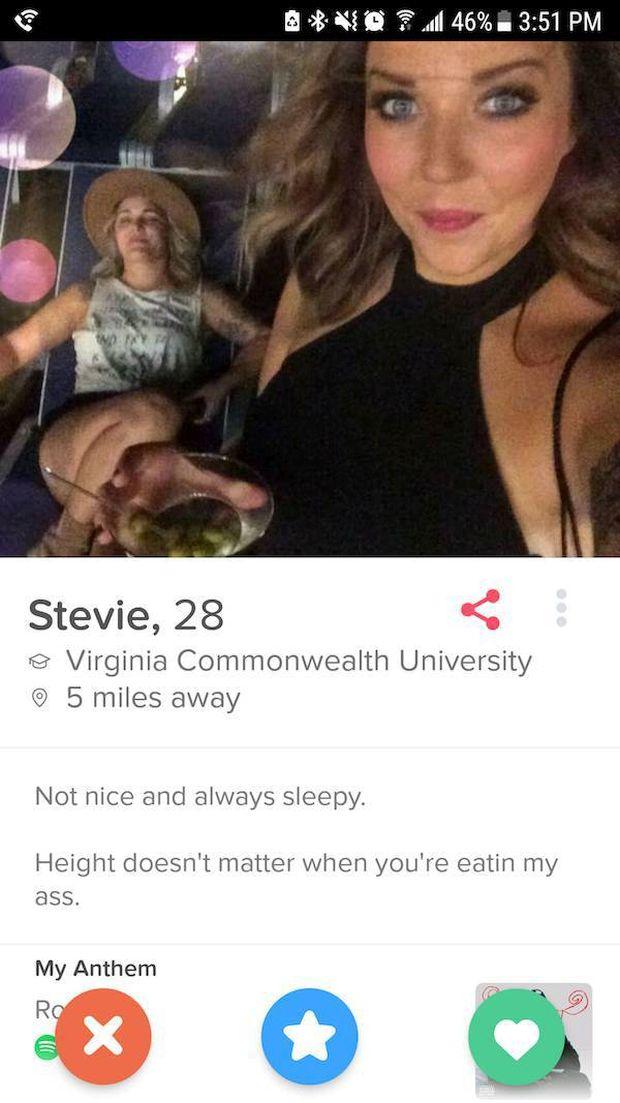 Śmieszne profile randkowe uk