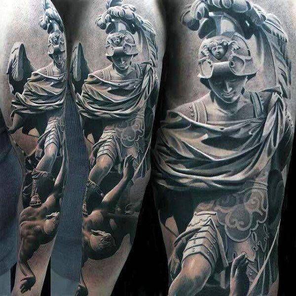 Prawdziwie Artystyczne Tatuaże Których Nie Powstydziłby Się