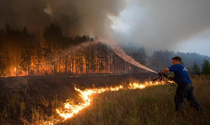 Polska Straż Pożarna Joe Monster - pomoc za granicą