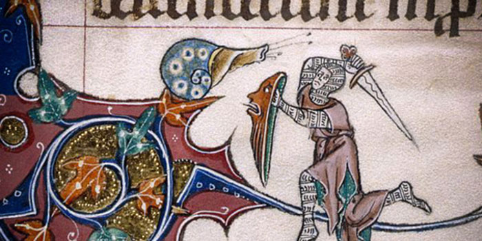Średniowieczne obrazy i ich dziwne treści i zapędy autorów na Joe Monster