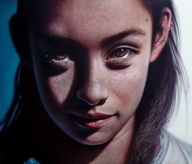 Hiperrealistyczne obrazy Kamalky Laureano