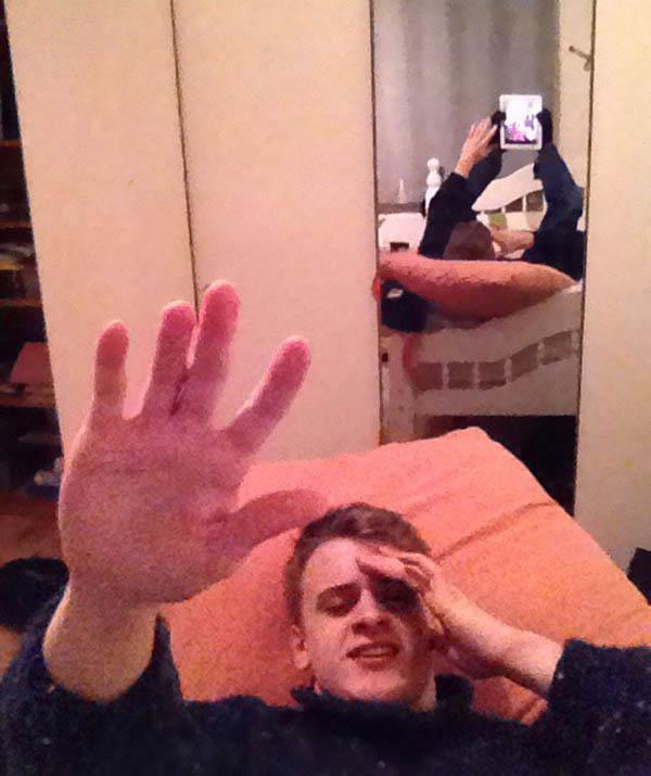 lustrzane odbicia, które totalnie zdewastowały te zdjęcia na Joe Monster