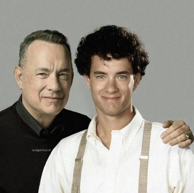 Aktorzy, piosenkarz, znani ludzie, sławy, porównanie starzy i młodzi na Joe Monster