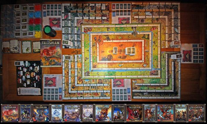Najlepsze gry planszowe - Talisman, czyli Magia i Miecz