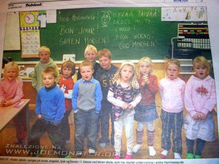 Polskie dziecko w norweskim przedszkolu