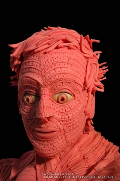 Rzeźby z gumy do żucia