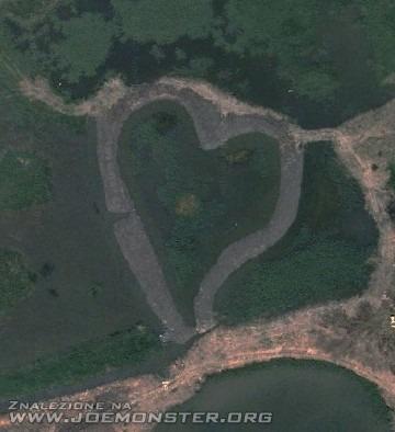 Miejsca na świecie w kształcie serca