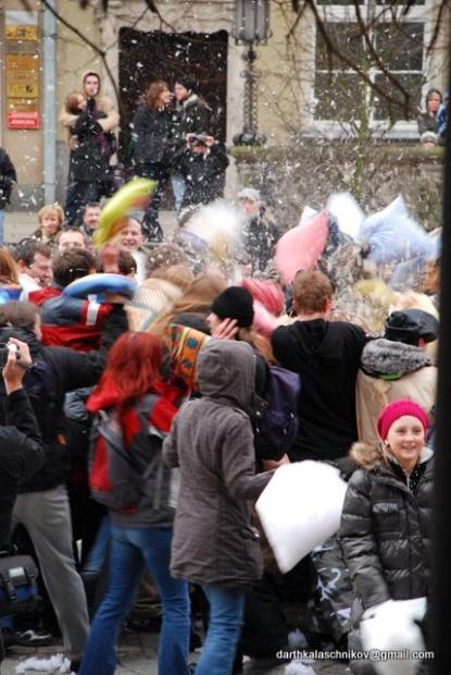 Walentynkowa Gdańska Bitwa Poduszkowa