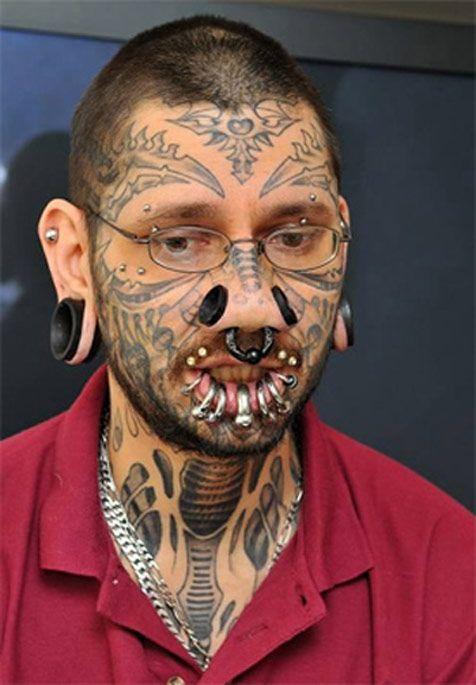 Tatuaż Na Twarzy Czyli Gwiezdne Nieporozumienie Joe Monster