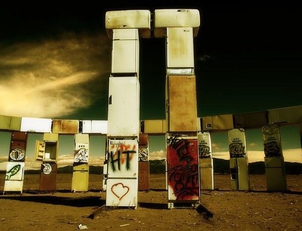 Amerykański Stonehenge z lodówek
