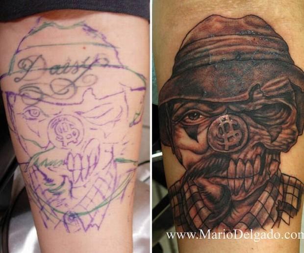 Jak Zakryć Nieaktualny Tatuaż Joe Monster