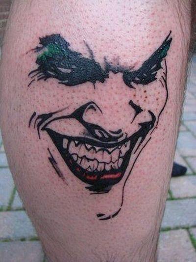 Tatuaże Z Superbohaterami Joe Monster