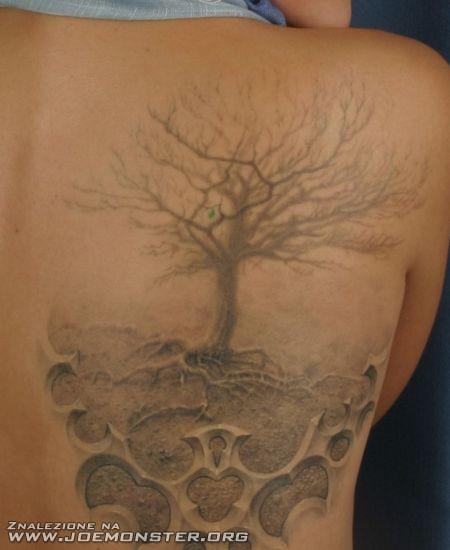 Trójwymiarowy tatuaż