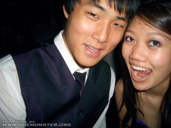 Idealny uśmiech azjatki