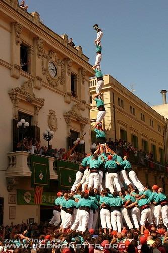 Wieże z ludzi - Hiszpania, Katalonia