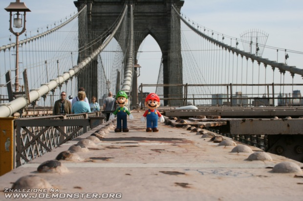 Mario Bros zwiedzają świat