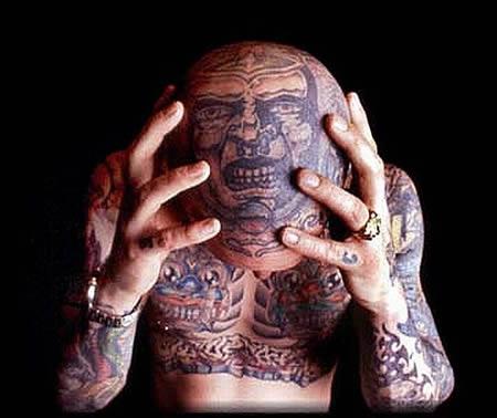Czadowe Tatuaże Na Głowie Joe Monster