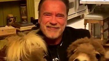 Arnold Schwarzenegger na kwarantannie