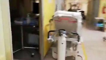 Przerażające nagranie ze szpitala we włoskim Bergamo