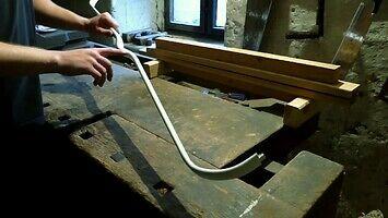 Jak zrobić łuk refleksyjny z rury PVC?