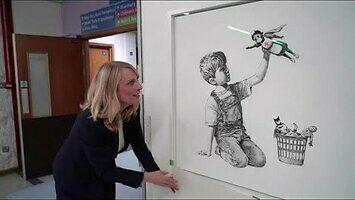 Banksy składa hołd brytyjskiej służbie zdrowia