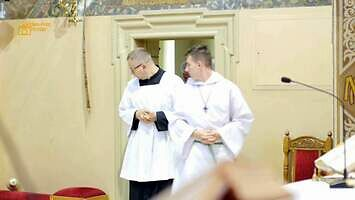 Wejście smoka w kościele. Dzwonki nie dały rady