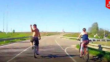 Rowerzystę dopada szybka kara