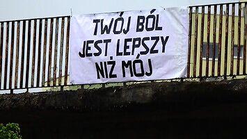 Tymczasem na wiadukcie w Gdańsku
