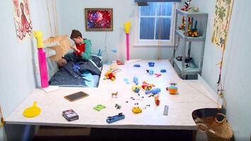 Sprzątanie pokoju dziecka w 10 sekund